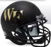 Wake Forest Demon Deacons Full XP Replica Football Helmet Schutt B Matte Black B PSM-Powers Sports Memorabilia