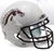 Western Michigan Broncos Full XP Replica Football Helmet Schutt B White B PSM-Powers Sports Memorabilia