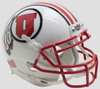 Utah Utes Authentic College XP Football Helmet Schutt 2016 White PSM-Powers Sports Memorabilia