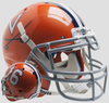 Virginia Cavaliers Authentic College XP Football Helmet Schutt B Orange 16 B PSM-Powers Sports Memorabilia