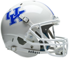 Kentucky Wildcats Full XP Replica Football Helmet Schutt B White B PSM-Powers Sports Memorabilia