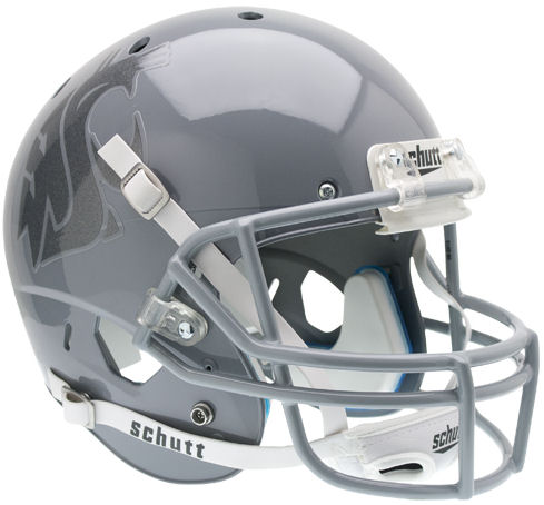 Washington State Cougars Full XP Replica Football Helmet Schutt B Gray Gray B PSM-Powers Sports Memorabilia