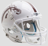 Western Michigan Broncos Full XP Replica Football Helmet Schutt B White with White Mask B PSM-Powers Sports Memorabilia