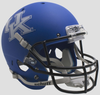 Kentucky Wildcats Full XP Replica Football Helmet Schutt B Matte Royal B PSM-Powers Sports Memorabilia