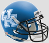 Kentucky Wildcats Mini XP Authentic Helmet Schutt B Matte Royal B PSM-Powers Sports Memorabilia