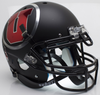 Utah Utes Authentic College XP Football Helmet Schutt B Chrome DecalB PSM-Powers Sports Memorabilia