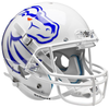 Boise State Broncos Full XP Replica Football Helmet Schutt B White B PSM-Powers Sports Memorabilia