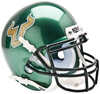 South Florida Bulls Mini XP Authentic Helmet Schutt B Green B PSM-Powers Sports Memorabilia