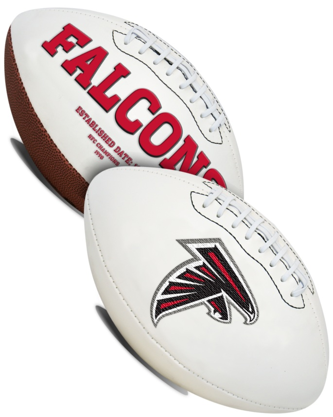 Atlanta Falcons NFL Signature Series Full Size Football PSM-Powers Sports Memorabilia