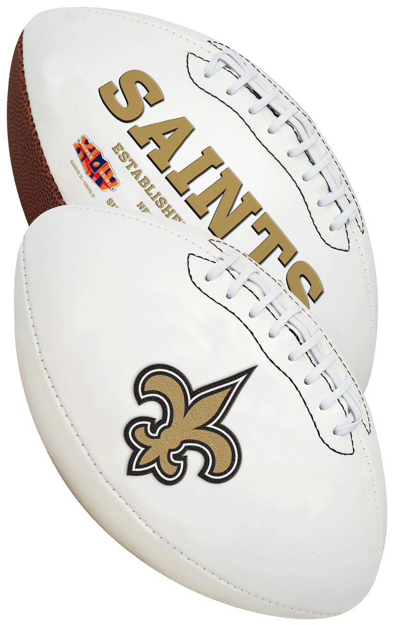 New Orleans Saints NFL Signature Series Full Size Football PSM-Powers Sports Memorabilia