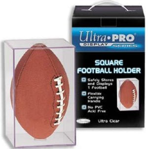Football Ultra Pro Display Case Holder PSM-Powers Sports Memorabilia