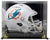 DeVante Parker Signed Miami Dolphins Full Size Speed Replica Helmet w/Case JSA PSM-Powers Sports Memorabilia