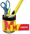 Maryland Terrapins Small Desk Caddy PSM-Powers Sports Memorabilia