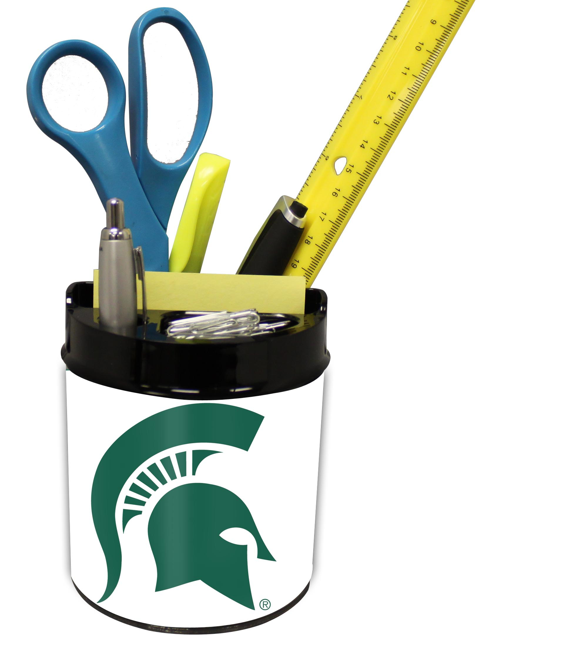 Michigan State Spartans Small Desk Caddy PSM-Powers Sports Memorabilia