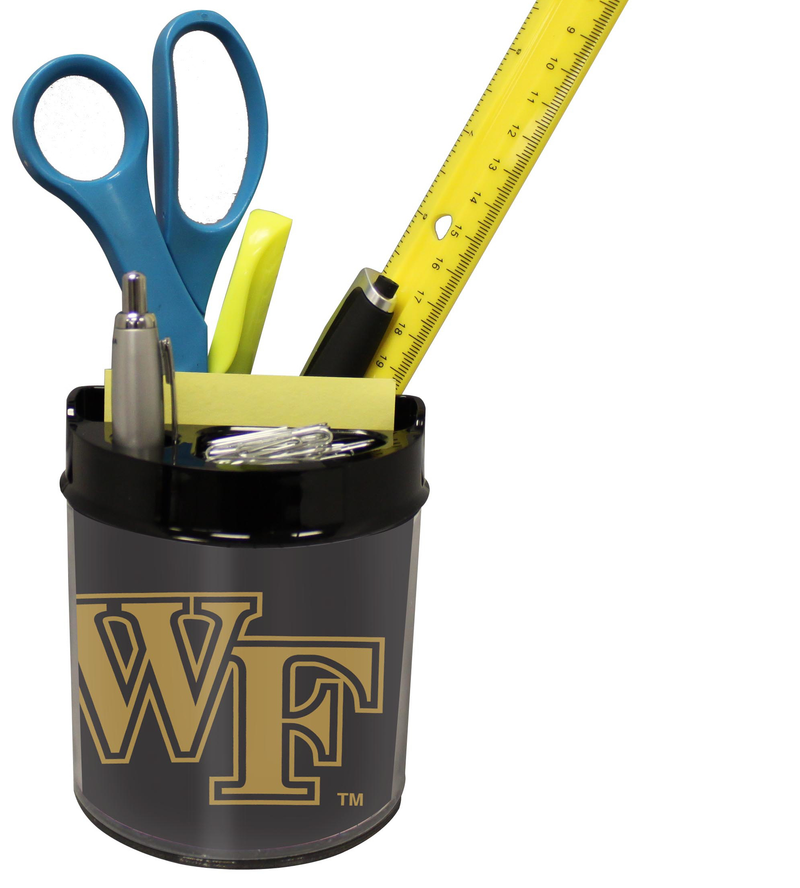 Wake Forest Demon Deacons Small Desk Caddy PSM-Powers Sports Memorabilia