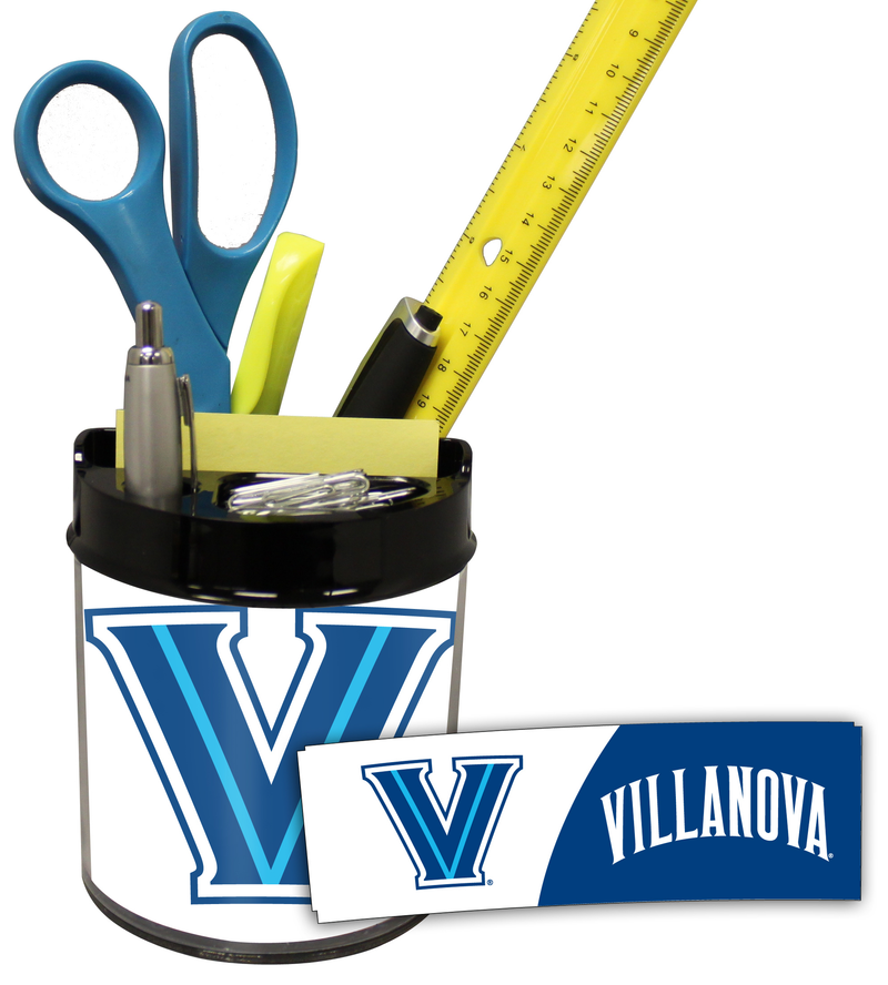 Villanova Wildcats Small Desk Caddy PSM-Powers Sports Memorabilia