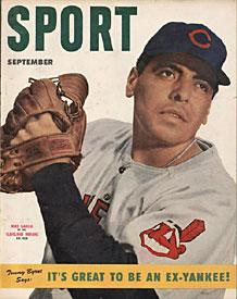 Sport Magazine - Mike Garcia Cleveland Indians Cover - September 1952 PSM-Powers Sports Memorabilia