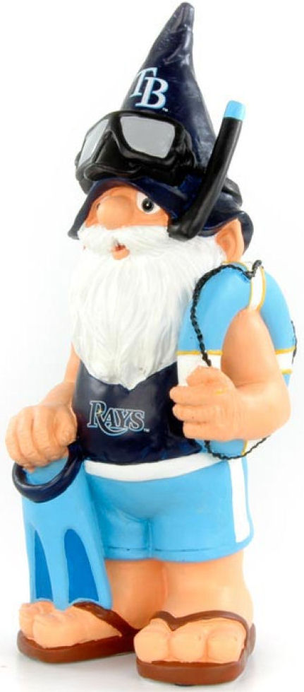 Tampa Bay Rays Garden Gnome Thematic-Powers Sports Memorabilia