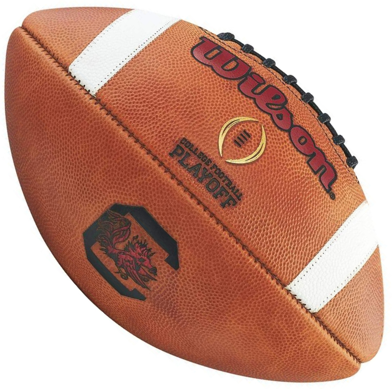 Wilson Official Leather NCAA South Carolina Gamecocks College Game Football PSM-Powers Sports Memorabilia