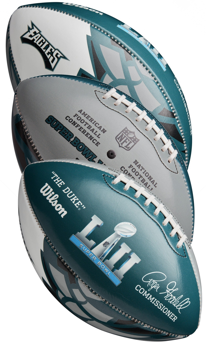 Philadelphia Eagles Super Bowl LII 52 FIT Championship Football PSM-Powers Sports Memorabilia