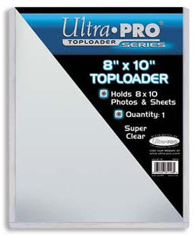 Ultra Pro Toploader for 8x10 Photo Protection PSM-Powers Sports Memorabilia