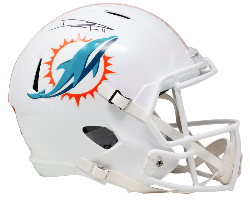 DeVante Parker Signed Miami Dolphins Full Size Speed Replica Helmet JSA ITP PSM-Powers Sports Memorabilia