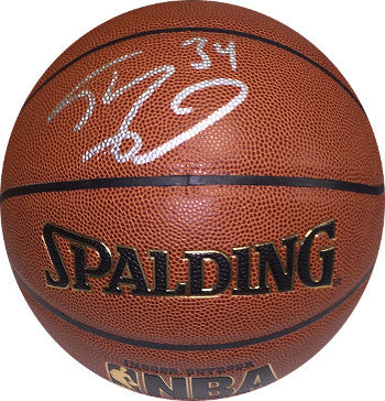Shaquille O'Neal signed Spalding NBA Indoor/Outdoor TB Basketball #34 (LA Lakers- silver sig) PSM-Powers Sports Memorabilia