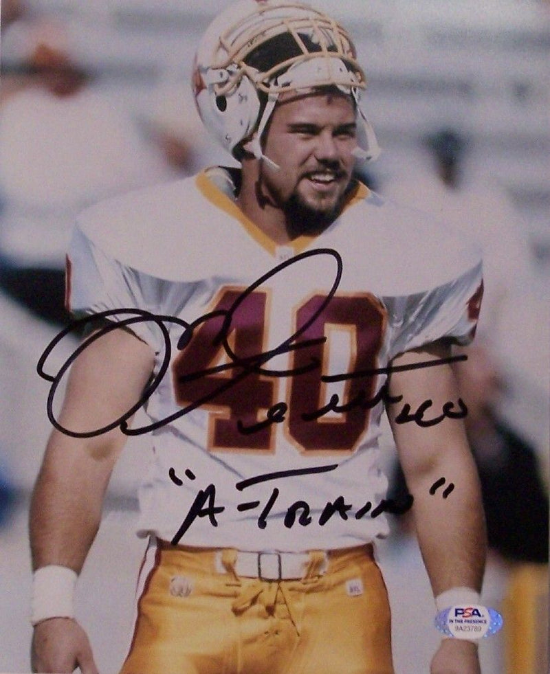 Mike Alstott Autographed Hand Signed Tampa Bay Buccaneers Bucs 8x10 Photograph - PSA/DNA PSM-Powers Sports Memorabilia