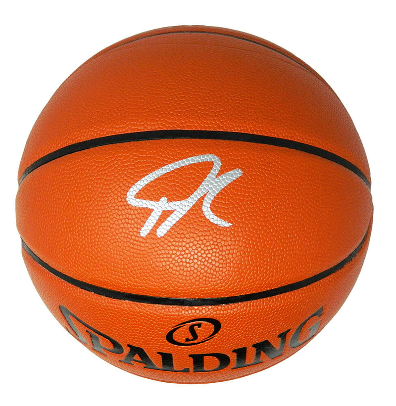 Giannis Antetokounmpo Signed Spalding Game Series Replica NBA Basketball PSM-Powers Sports Memorabilia