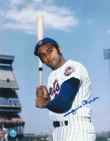 Autographed Jesus Alou New York Mets 8x10 Photo PSM-Powers Sports Memorabilia
