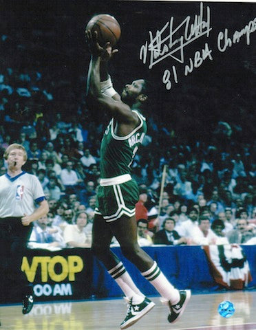 "Autographed Nate ""Tiny"" Archibald Boston Celtics 8x10 Photo Inscribed ""81 NBA Champs"" PSM-Powers Sports Memorabilia"