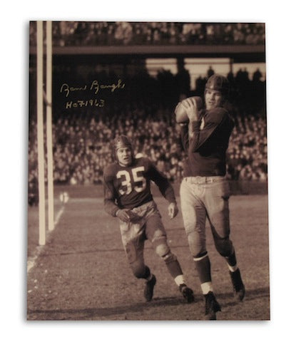 "Autographed Sammy Baugh Washington Redskins 16x20 Photo Catching Inscribed ""HOF 1963"" PSM-Powers Sports Memorabilia"