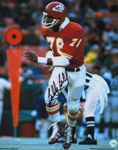 Autographed Bobby Bell Kansas City Chiefs 8x10 Photo PSM-Powers Sports Memorabilia