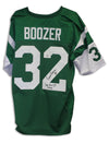 "Emerson Boozer New York Jets Autographed Green Jersey Inscribed ""Super Bowl III Champs"" PSM-Powers Sports Memorabilia"