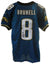 Mark Brunell Jacksonville Jaguars Autographed Authentic Nike Jersey PSM-Powers Sports Memorabilia