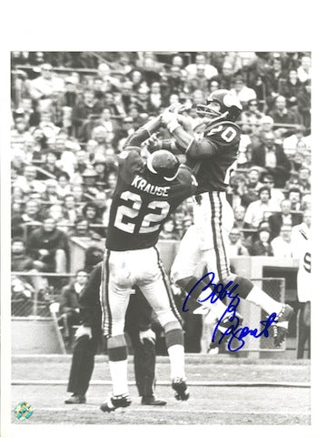 Autographed Bobby Bryant Minnesota Vikings 8x10 Photo PSM-Powers Sports Memorabilia