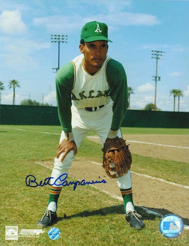 Autographed Bert Campaneris Oakland Athletics 8x10 Photo PSM-Powers Sports Memorabilia