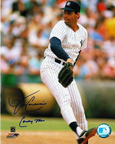 "Autographed John Candelaria New York Yankees 8x10 Photo Inscribed ""Candy Man"" PSM-Powers Sports Memorabilia"