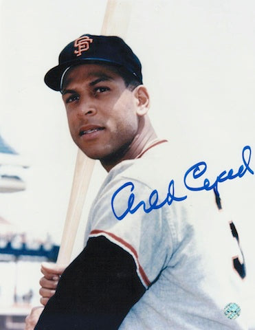 Autographed Orlando Cepeda San Francisco Giants 8x10 Photo PSM-Powers Sports Memorabilia