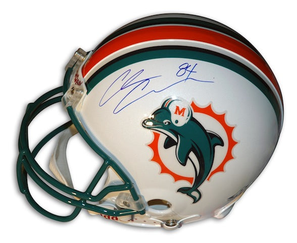 Autographed Chris Chambers Miami Dolphins Proline Helmet PSM-Powers Sports Memorabilia