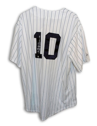 "Autographed Chris Chambliss New York Yankees Pinstripe Majestic Jersey Inscribed ""77-78 WS Champs"" PSM-Powers Sports Memorabilia"
