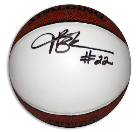 Jim Chones Autographed Spalding Mini Basketball PSM-Powers Sports Memorabilia