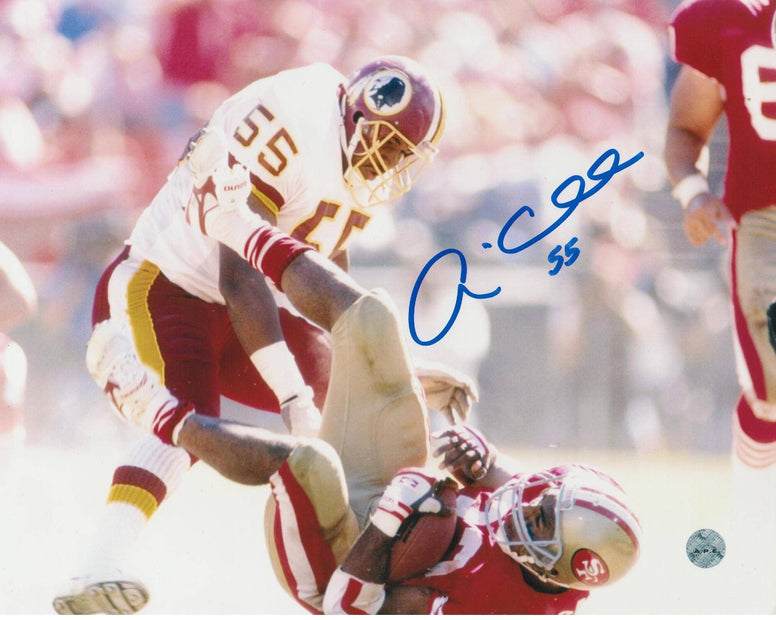 Andre Collins Washington Redskins Autographed 8x10 Photo -Tackle- PSM-Powers Sports Memorabilia