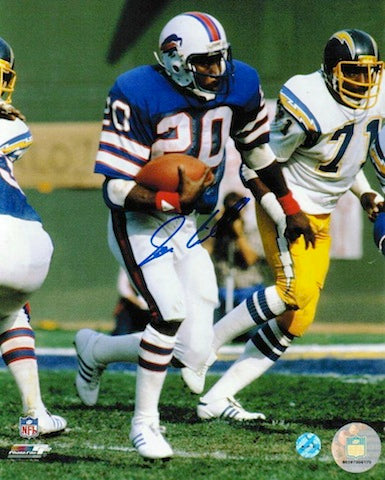 Autographed Joe Cribbs Buffalo Bills 8x10 Photo PSM-Powers Sports Memorabilia