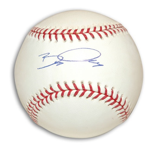 Autographed Bobby Crosby MLB Baseball PSM-Powers Sports Memorabilia