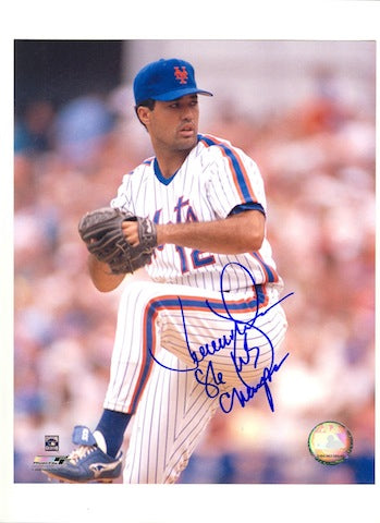 "Autographed Ron Darling New York Mets 16x20 Inscribed ""86 WS Champs"" PSM-Powers Sports Memorabilia"
