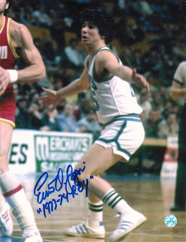 "Autographed Ernie DiGregorio Buffalo Braves 8x10 Photo Inscribed ""1973-74 ROY"" PSM-Powers Sports Memorabilia"