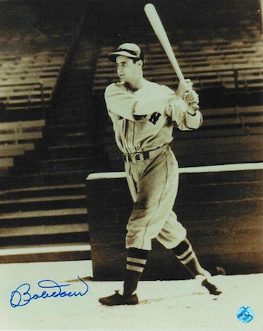 Autographed Bobby Doerr Boston Red Sox 8x10 Photo PSM-Powers Sports Memorabilia