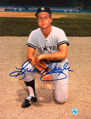 Brian Doyle New York Yankees Autographed 8x10 Photo PSM-Powers Sports Memorabilia