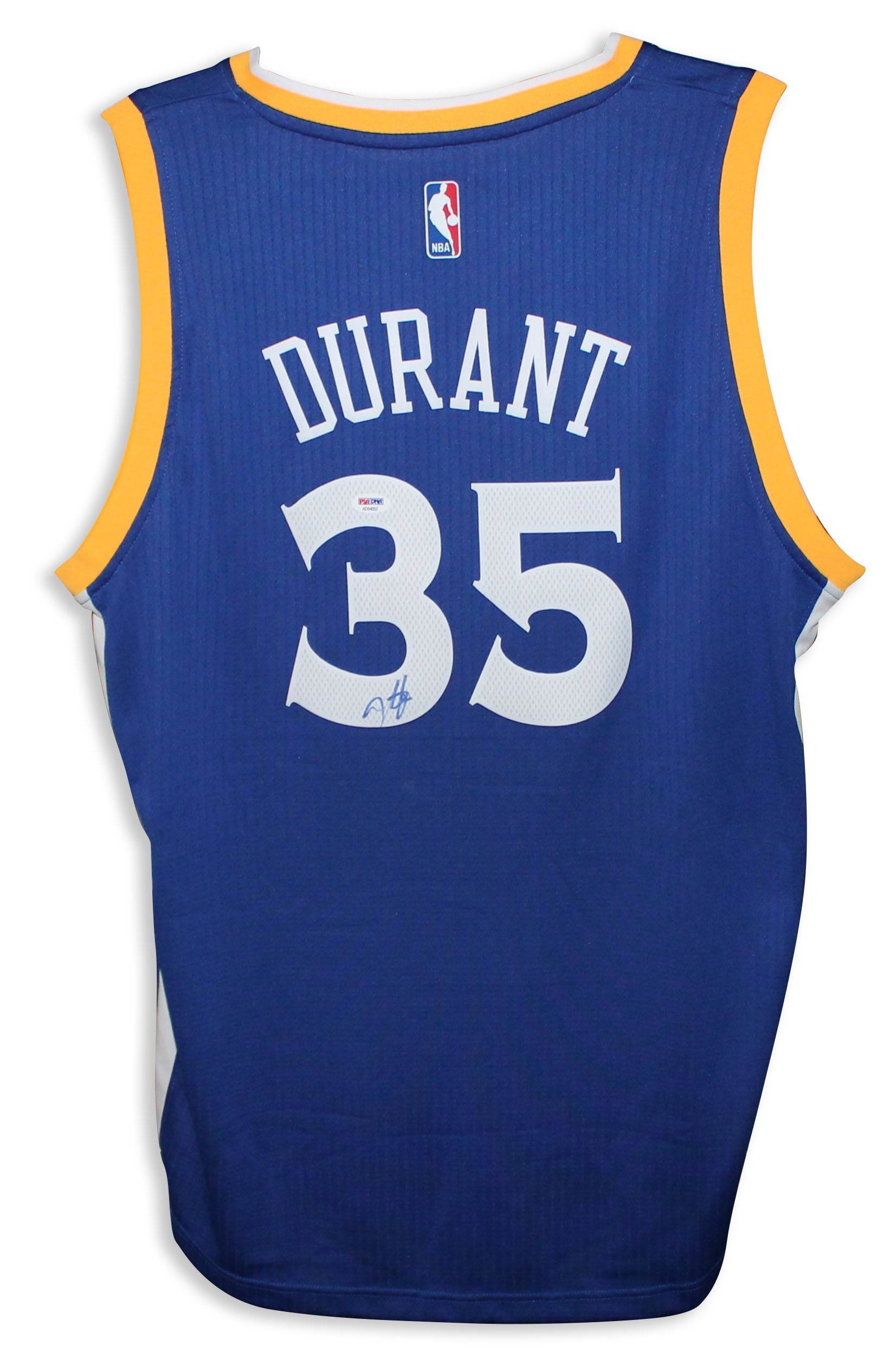 eb815fadf Kevin Durant Golden State Warriors Autographed Blue Nike Jersey PSM